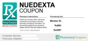 cost of Nuedexta