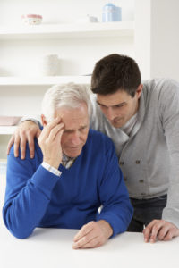 son of dad with Alzheimers