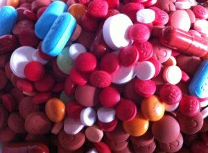 drug interactions of Nuedexta